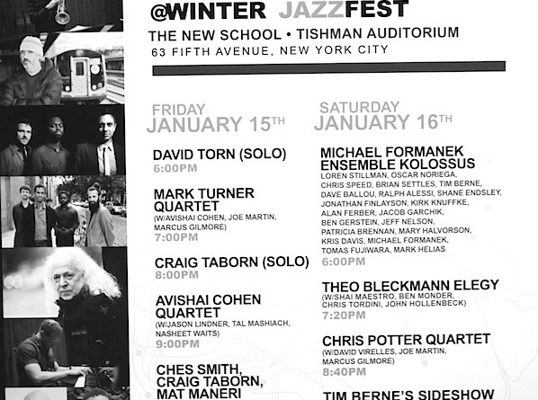 ECM Winter JazzFest Poster