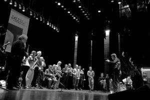 Globe Unity Orchestra (rehearsal)