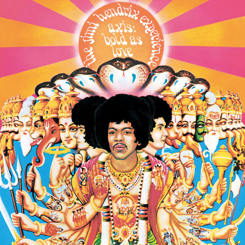 Jimi Hendrix: Axis Bold As Love
