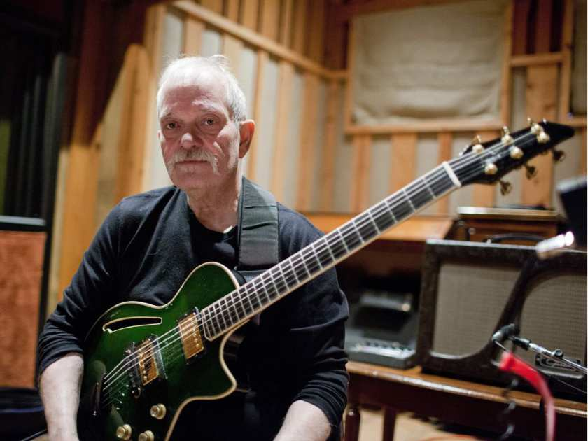 John Abercrombie: photo JOHN ROGERS / ECM RECORDS
