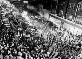 キング牧師暗殺に対する暴動