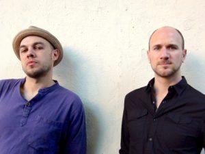 KRONIX; Alexander Maksymiw (left) & Peter van Huffel(right)