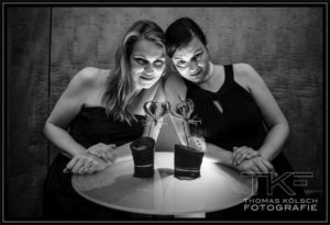 Sabine Kuehlich (left) & Laia Genc ©Thomas Koelsch