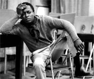 Miles Davis, mid-1950s, photo by Vern Smith