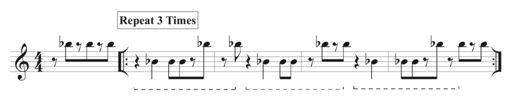 4 bar pattern