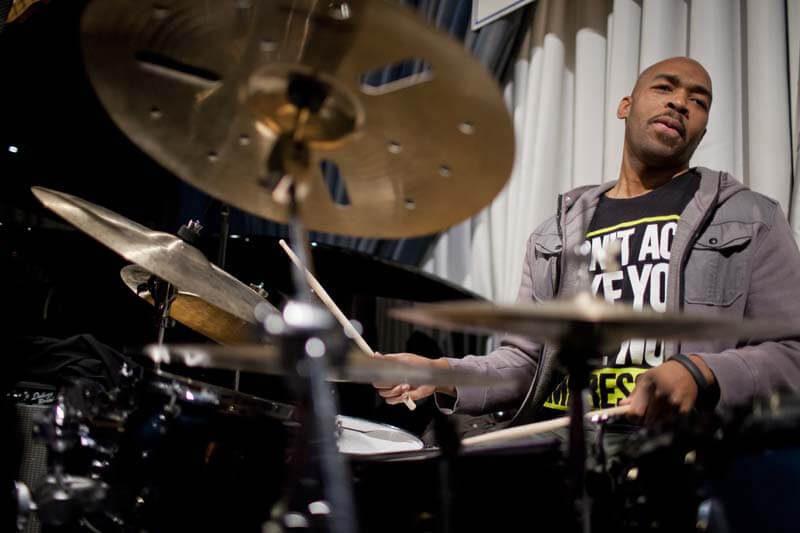 Eric Harland (photo: JazzTimes)