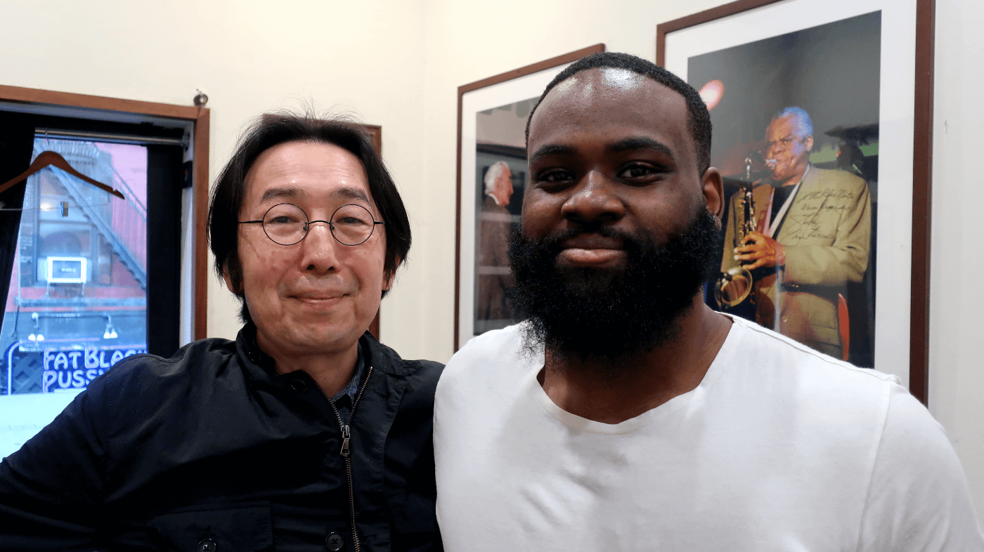 James Francies and Hiro Honshuku at Blue Note NYC 2019-06-05