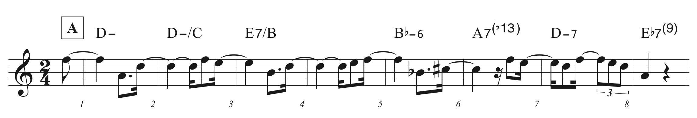 1〜8小節
