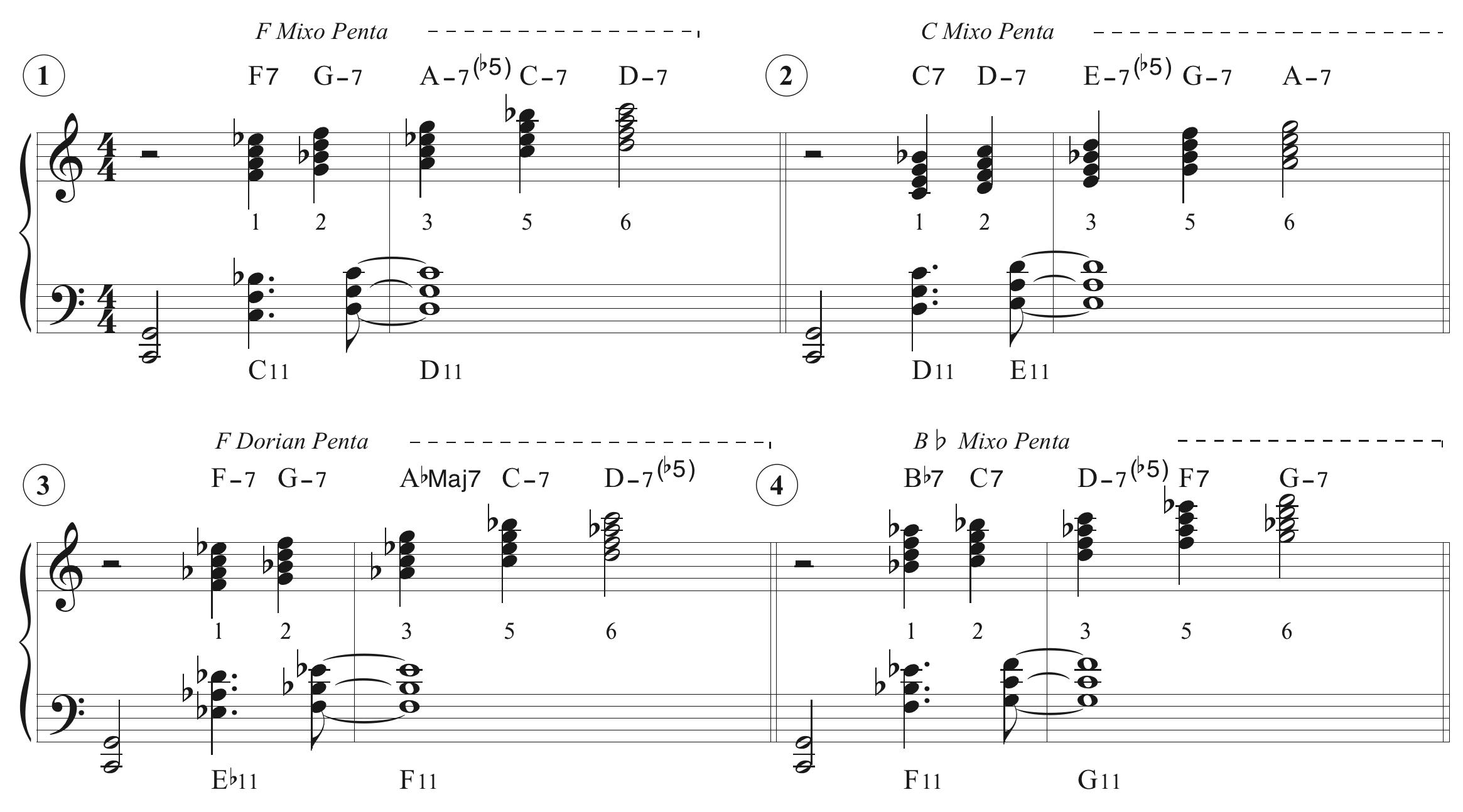マッコイ奏法の例