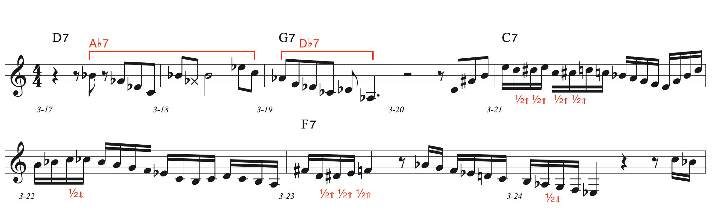 3rd chorus - bridge
