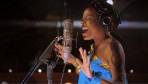 Malika Tirolien, vocalist of music group Bokanté