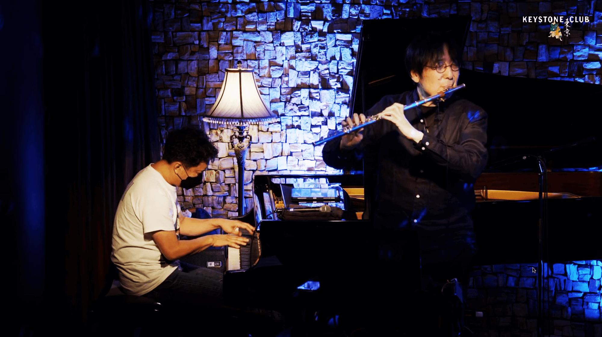 Makoto Ozone & Hiro Honshuku Duo @Keystone Club Tokyo, 2021-06-28