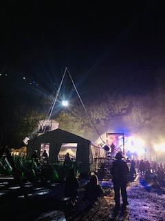 FIELD OF HEAVEN (Fujirock) at night