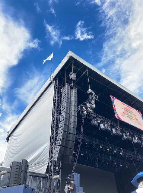 WHITE STAGE (Fujirock Festival