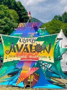 GYPSY AVALON 会場の看板