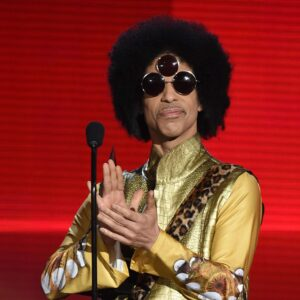 Prince at 2015 American Music Awards - Show